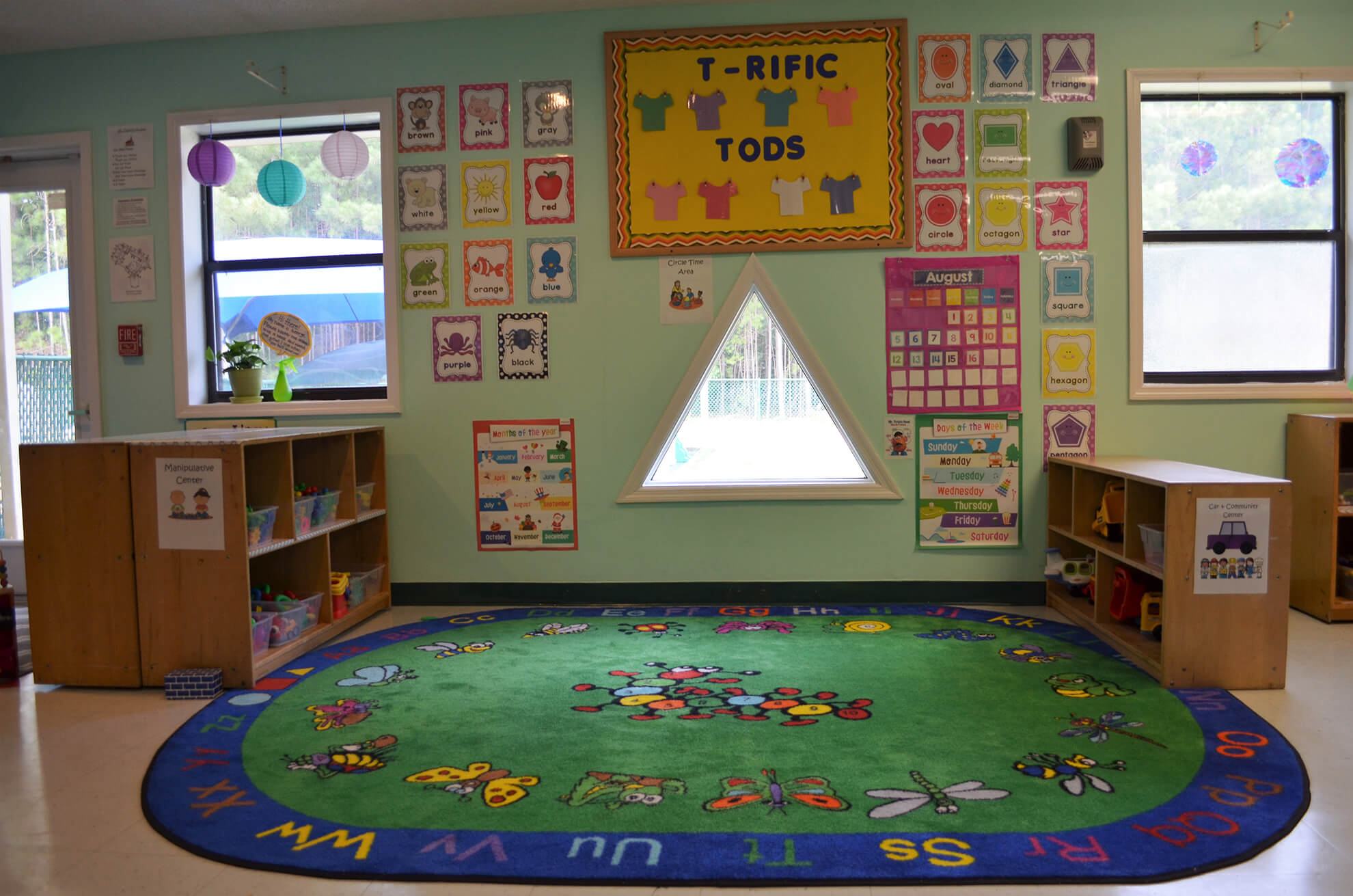 Our Transition Toddler Room