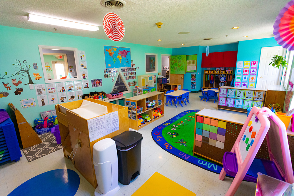 Toddler Classroom in Kennesaw's best daycare
