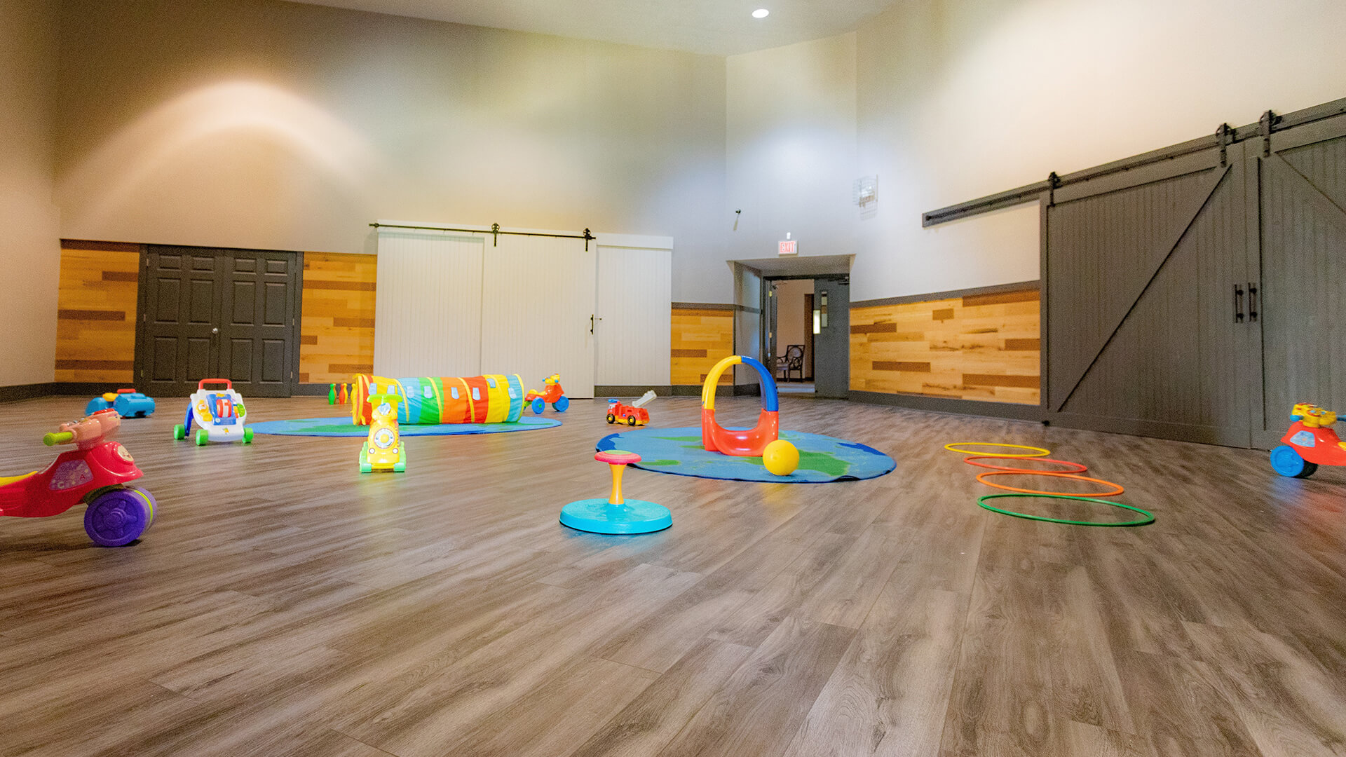 Play room at Mt. Elizabeth Academy, Daycare, preschool, Kennesaw Christian school, private school