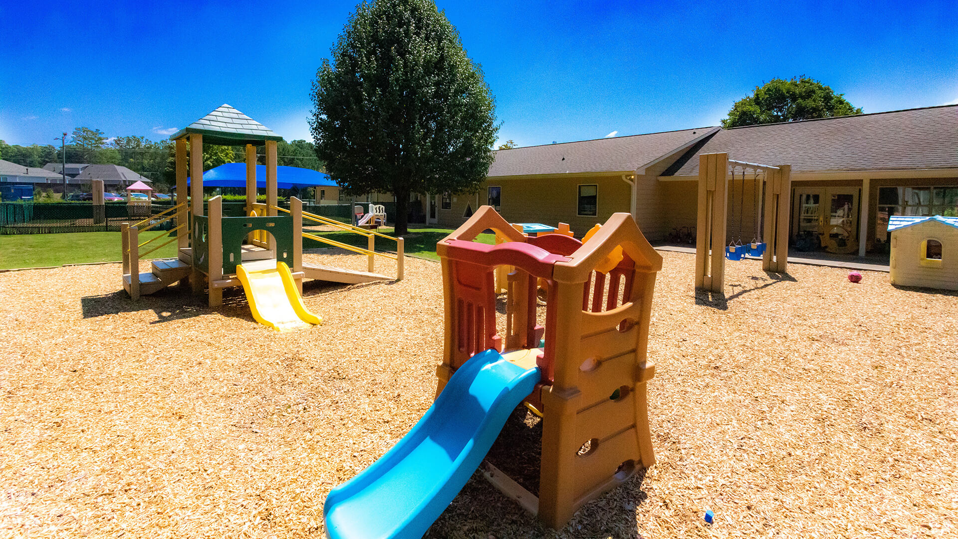 Toddler 2 Playground - Mt. Elizabeth Academy, Daycare, preschool, Kennesaw Christian school, private school
